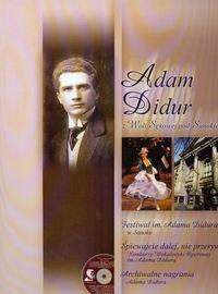 Adam Didur z Woli Sękowej pod Sanokiem z płytą CD