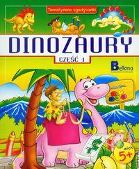 Dinozaury część 1 Tematyczne zgadywanki