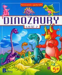 Dinozaury część 2 Tematyczne zgadywanki