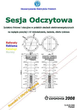 03 Multimedia - Izolatory liniowe i stacyjne w polskich sieciach elektroenergetycznych na napięcia powyżej 1 kV : doświadczenia, badania, oferta rynko