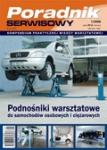Podnośniki warsztatowe do samochodów osobowych i ciężarowych