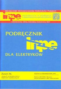 Aparaty elektryczne II. Podstawy eksploatacji INPE 34