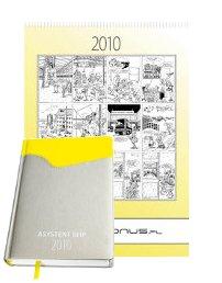 Asystent BHP 2010 oraz Kalendarz ścienny na  2010 rok