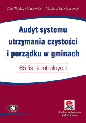 Audyt systemu utrzymania czystości i porządku w gminach 65 list kontrolnych z suplementem elektronicznym