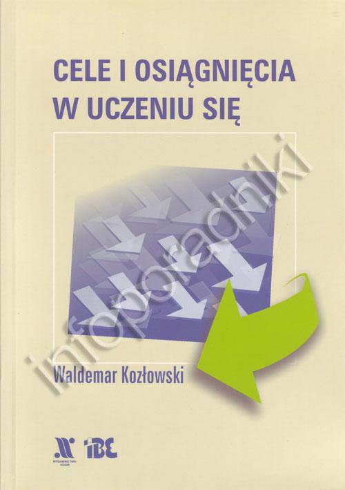 Cele i osiągnięcia w uczeniu się (skrypt) - okładka