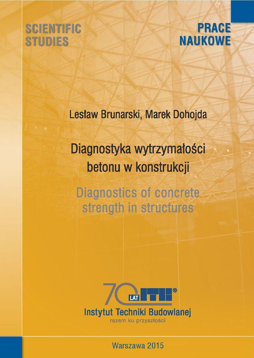 Diagnostyka wytrzymałości betonu w konstrukcji - ITB