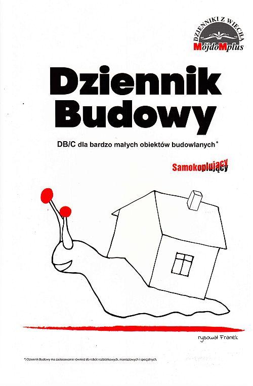 Dziennik Budowy DBC dla bardzo małych obiektów budowlanych