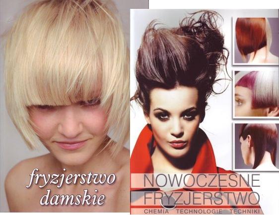 Nowoczesne fryzjerstwo+fryzjerstwo damskie