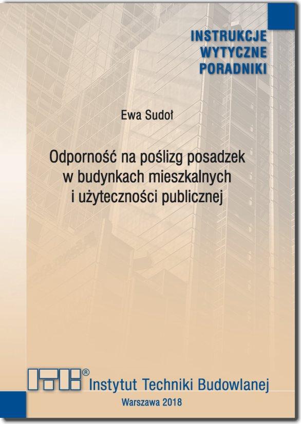 Odporność na poślizg posadzek w budynkach mieszkalnych i użyteczności publicznej