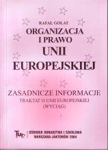 Organizacja i prawo Unii Europejskiej