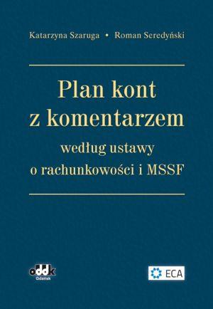 Plan kont z komentarzem według ustawy o rachunkowości i MSSF