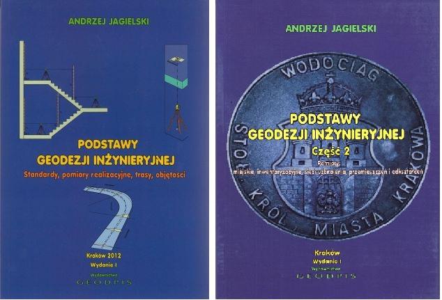 Podstawy geodezji inżynieryjnej cz. 1 i cz. 2 Geodpis
