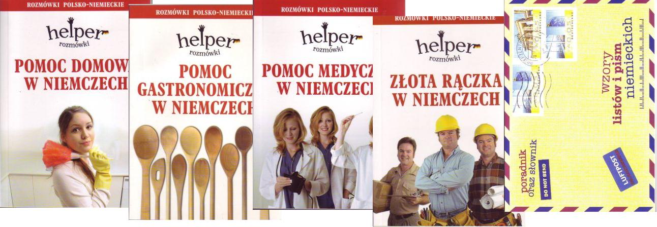 Pomoc domowa gastronomiczna medyczna złota rączka, Wzory listów i pism POL-NIEM
