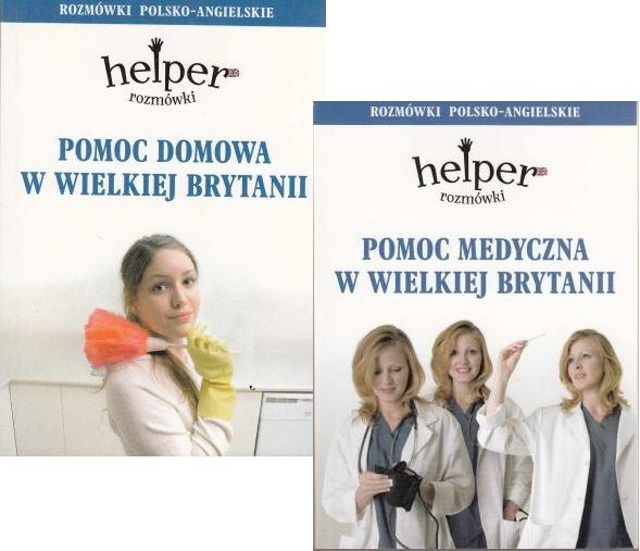 Pomoc domowa i medyczna pol - ang Helper kpl