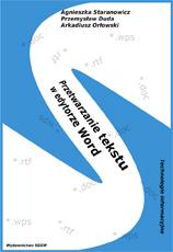 Przetwarzanie tekstu w edytorze Word