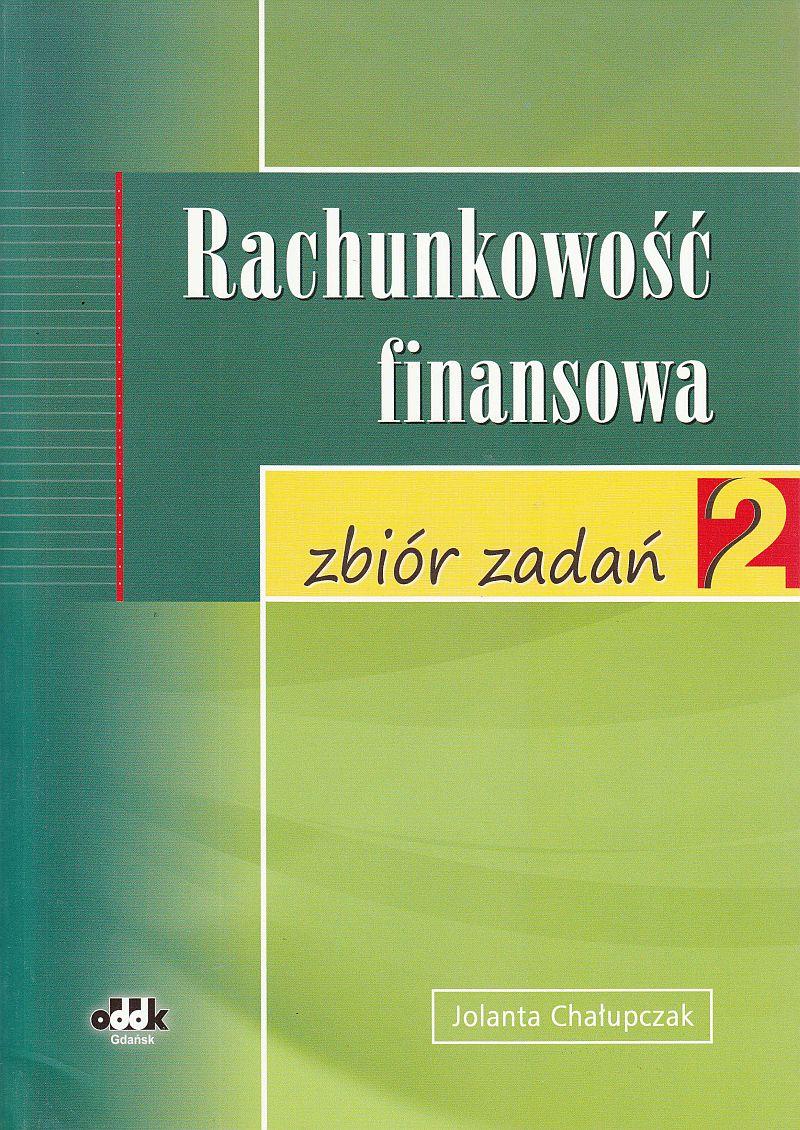Rachunkowość finansowa - zbiór zadań