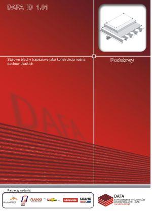 Stalowe blachy trapezowe jako konstrukcja nośna dachów płaskich.