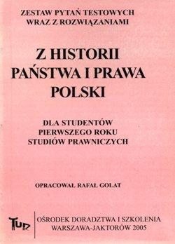 Z historii państwa i prawa Polski